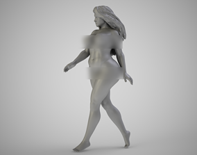 3D printable model Girl Walking