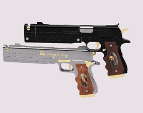 3D print model Ebony and Ivory from Devil May Cry 5