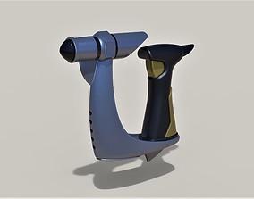 Plasma Compression Pistol from Star Trek 3D print model