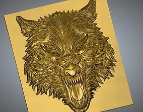 3D print model Wolf Face