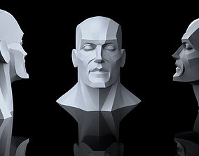 3D print model Geometric head anatomy reference