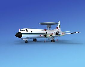 Lockheed P-3 Orion US Customs 3D