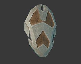 3D asset Stylized Medieval Shield 3