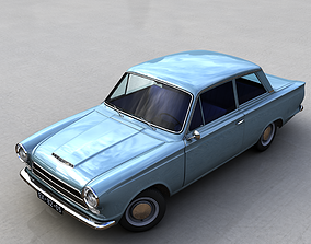 FOR-D CONSUL CORTINA MK1 1962 3D model