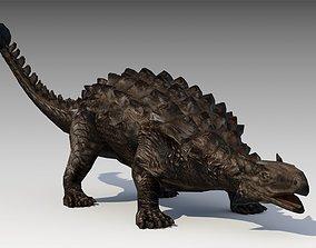 Ankylosaurus 3D model animated