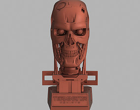 Terminator Genisys T-800 Skull Bust for 3d