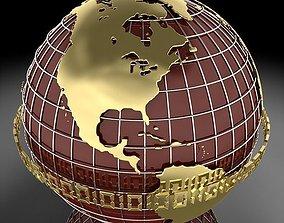 Globe B 3D
