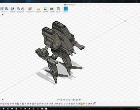 3D printable model Mad Dog