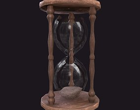 HourGlass 3D model low-poly