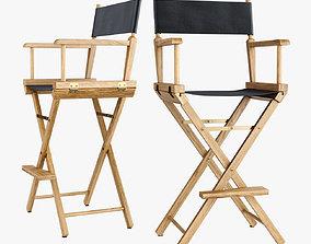 Directors Chair Los Angeles 3D model