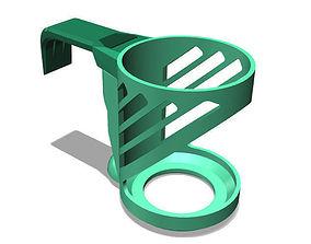 Door Mounted Can Holder 3D printable model