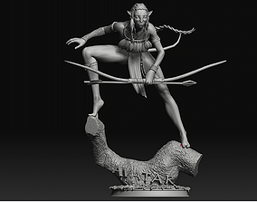 3D printable model Avatar from movie with 2 different 4