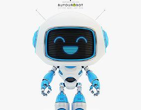 3D Lovely robot - companion VI