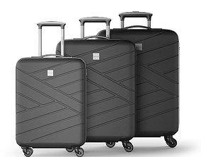Wittchen Luggage Set 3D model