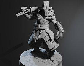 Juggernaut Dota 2 high poly 3D printable model