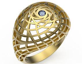 3D printable model Ring Sphere Dome