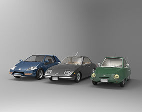 3 Cars Collection 3D