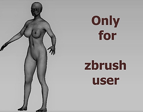 base women 3D model