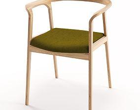 3D Willow Chair in Oak