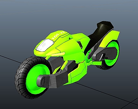 3D asset VR / AR ready SUPER BIKE