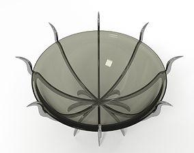 Decorative Spike Bowl 3D