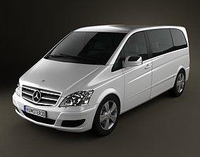 3D model Mercedes-Benz Viano Compact