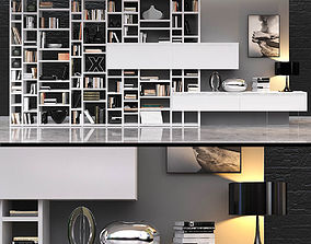 CROSSING bookcase 3D