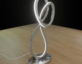 3D asset LED lamp