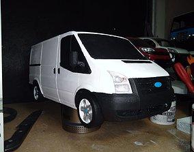 3D printable model Ford Transit 300s Panelvan
