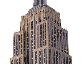 3D asset Empire State Building