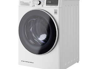 3D model Dual Inverter Tumble Dryer 9 Kg A by LG