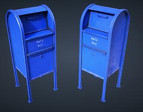 Mail Box 3D model VR / AR ready