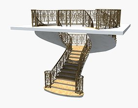 Spiral Staircase4 3D model