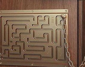 Door Puzzle Locker 3D