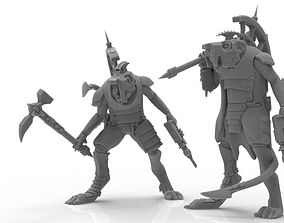 Cheese Stealer Cult - Warlord 3D print model