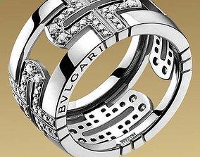 ring Bvlgari 3D print model rings