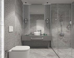 3D model interior BATHROOM