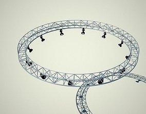 3D Metallic structure truss 02