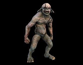 3D model animated Goblin