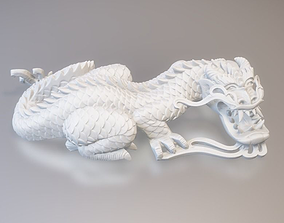 3D print model Chinese Dragon Pearl Claw