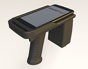 RFID card writer with Moto C 3D printable model