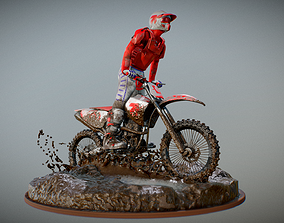Enduro on mud 360 in 3D v2