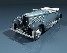 3D Delta Cabriolet open top