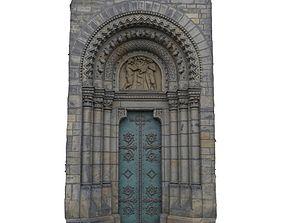 3D model low-poly Church portal