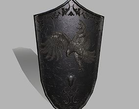 bladed-weapon 3D model realtime Shield