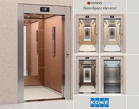 3D model Elevator Kone NanoSpace
