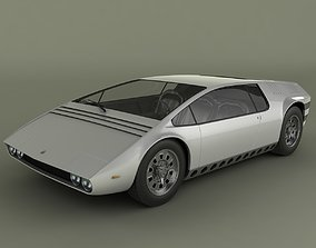 3D model Bizzarini Manta Concept