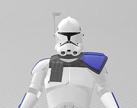3D print model Star Wars Clone Wars Captain Rex Full Aromr