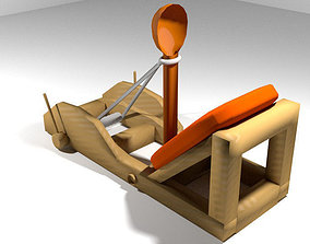 Medieval War Machine - Onager 3D model