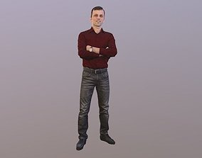 No133 - Male Standing 3D